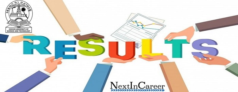 CUSAT CAT 2019 Result