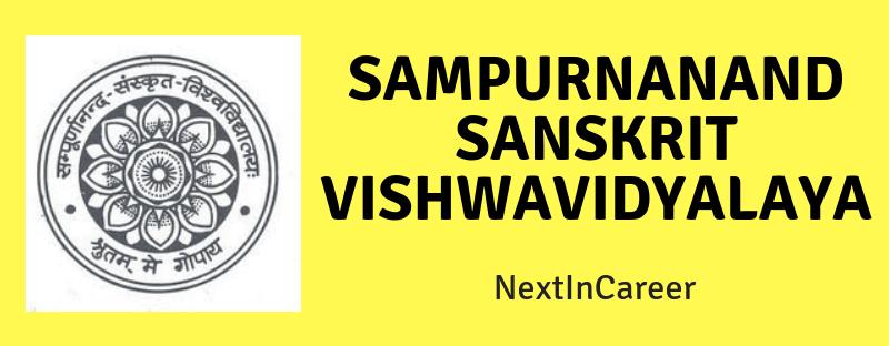 Sampurnanand Sanskrit Vishwavidyalaya