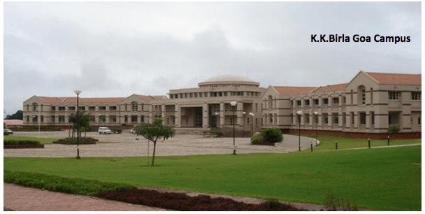 K K Birla Goa Campus