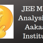 JEE Main Analysis by Aakash Institute