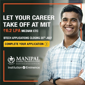Manipal B.Tech Application Open