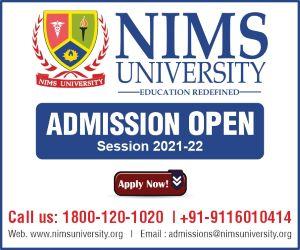 NIMS University Application Form